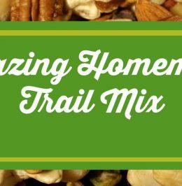 Amazing Homemade Trail Mix