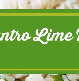 CilantroLimeRice