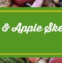 Pork & Apple Skewers